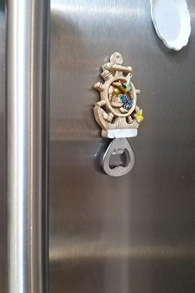 Oyuncak Filesi Gemi Dümeni Çapa Buzdolabı Süsü Açacak Magnet