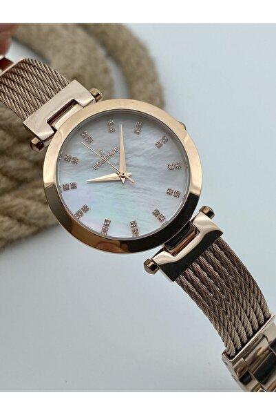 Essence Kadın Çelik Kol Saati + Gümüş Kolye