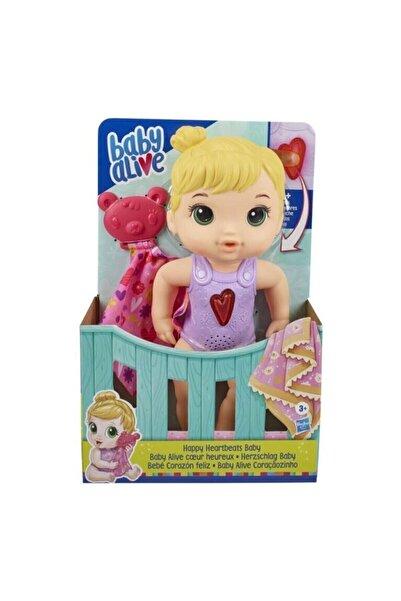 Hasbro Baby Alive Happy Heartbeats Orjinal Lisanslı Oyuncak Bebek