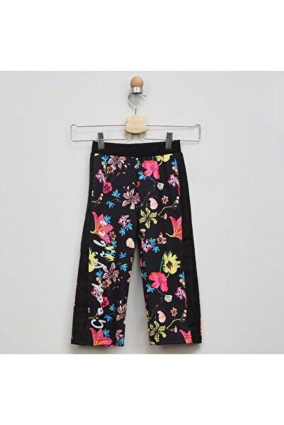 Panço Örme Pantolon Kız Çocuk Siyah