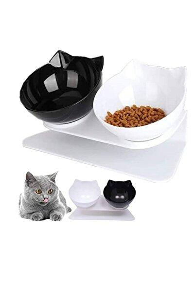 MUCA Kedi Kafalı Ikili Mama Kabı (SB)