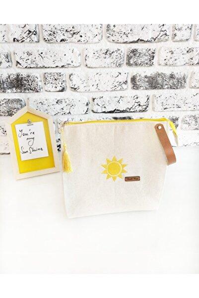 Farah Bag Kese Kağıdı Clutch Güneş