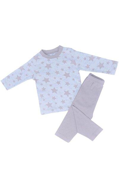 Misket Yıldız Baskılı Pijama