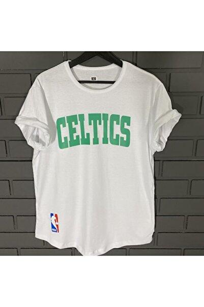 by joker Unisex Celtic Baskılı Oversize Tshirt