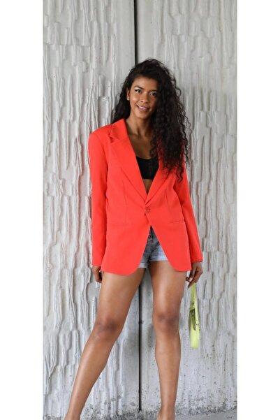 The Ness Collection Oranj Blazer Ceket