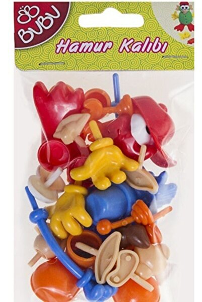 Bubu Bu Bu Plastik Oyun Hamuru Aksesuarları- 26 Parça