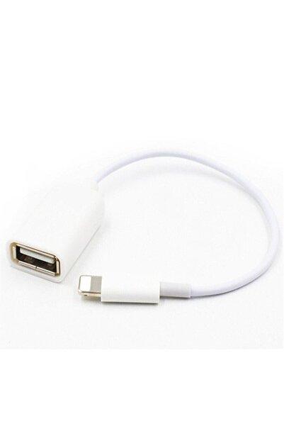 Pmr Iphone Lightning To Dişi Usb Otg Kablo Ios 13 Ve Üzeri