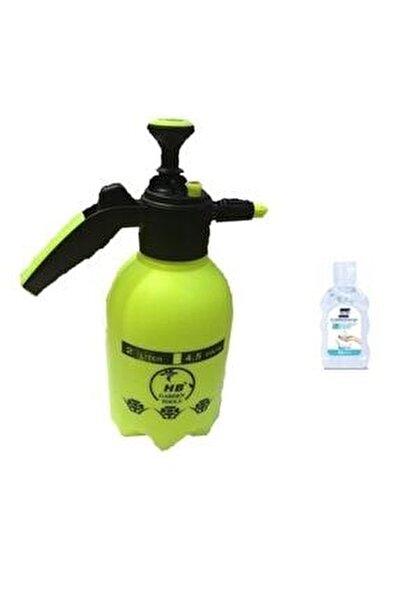 2 Lt Basınçlı Klima Temizleme Su Dezenfektan Ilaçlama Pompası Fısfıs Hediye El Dezenfektanı Jeli