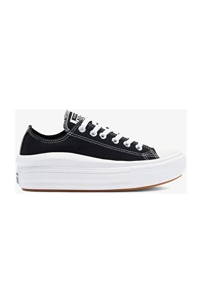 converse Chuck Taylor All Star Move Platform Kadın Siyah Sneaker