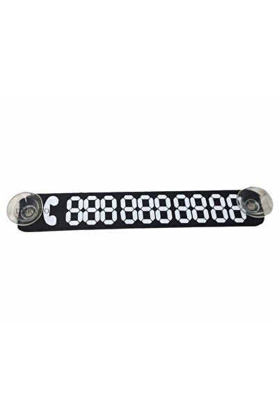 DMR Siyah Araba Telefon Numaratörü Vantuzlu