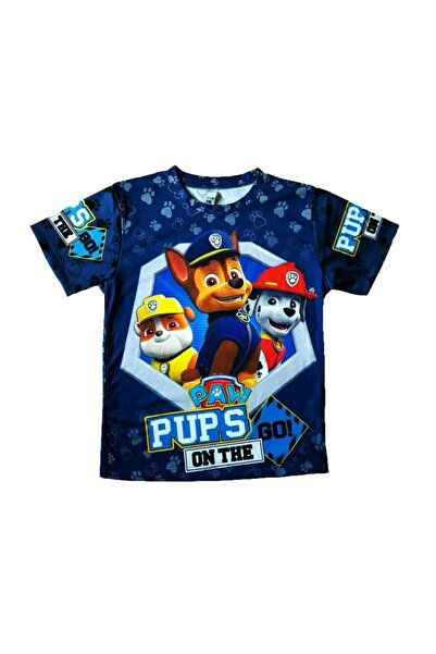 PAW PATROL Dijital Baskılı  T-Shirt