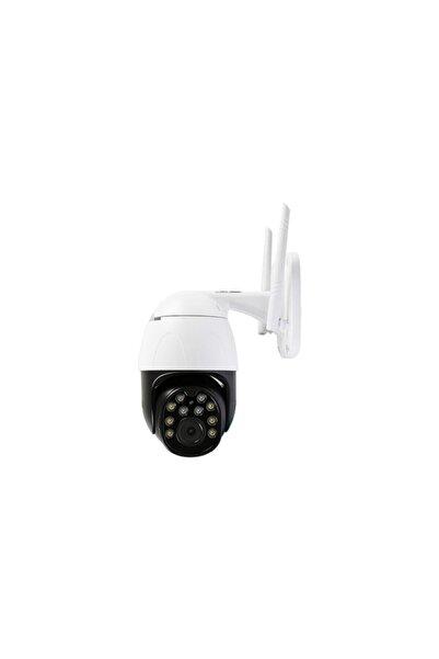 Everest Siyah Beyaz Df-804w 2.0 Mp Hd Lens 3.6mm Ip Smart Wifi Network Tf Kartlı Güvenlik Kamerası