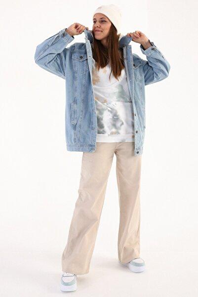 ALLDAY Mavi01 Oversize Denim Ceket