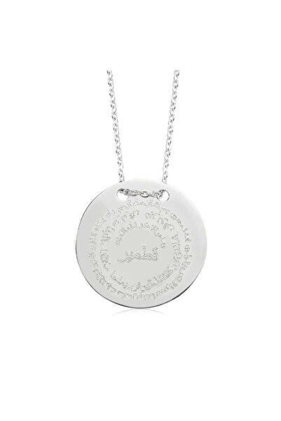 Gumush Kadın Gümüş Kıtmir Duası Kolye PT2000001
