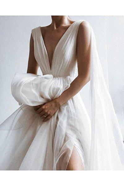 Paradise Collection Moda Evi Paradise Gelinlik Hayal Tül Drapeli Helen Gelinlik