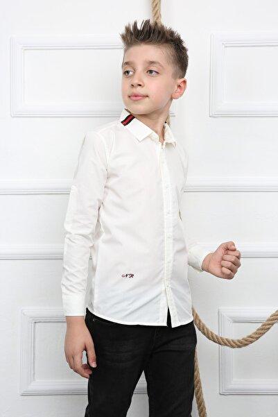 NORMANİ Erkek Çocuk Beyaz Gömlek