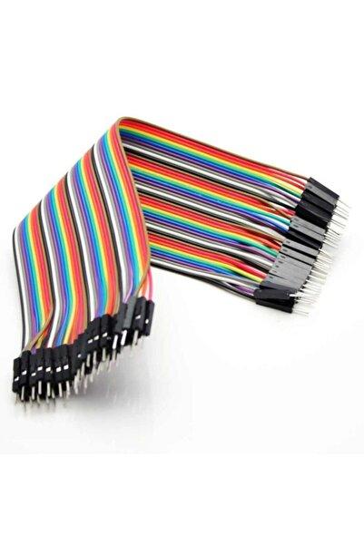 Arduino 40 Adet Erkek-erkek Jumper Kablo 20cm