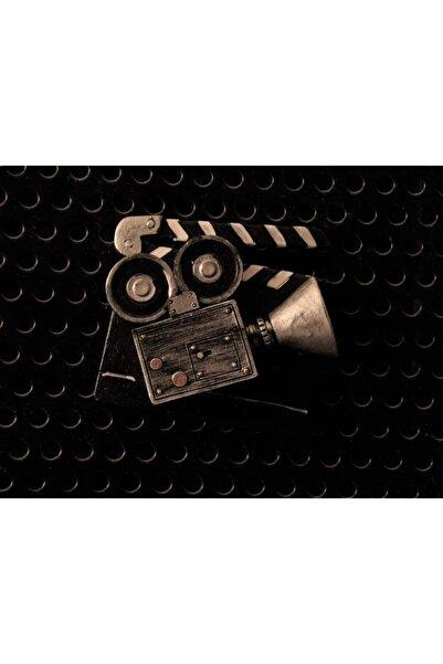 By Zincir Dekoratif Buzdolabı Magneti Nostaljik Film Projektörü