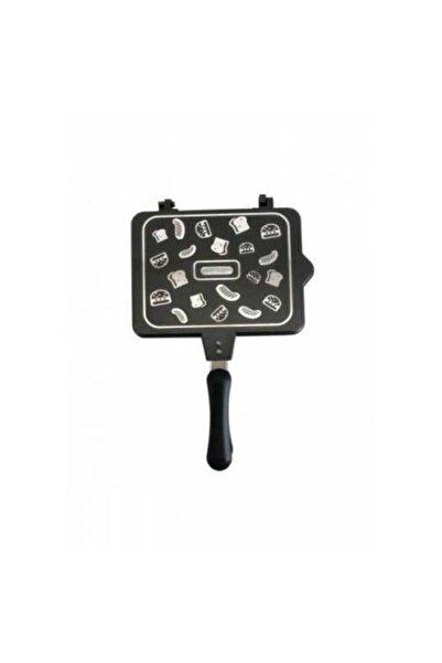 TAŞHAN Lüks Grıll Tost Makinası Ocak Üstü Iç Ve Dış Granit Tost Makinesi