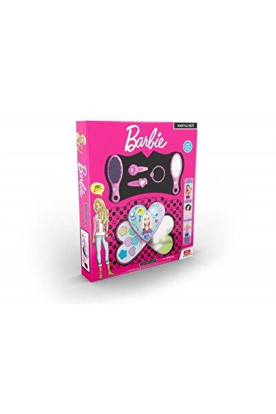 Uçar Oyuncak Barbie Kalp Makyaj Seti (sürülebilir Farlar)