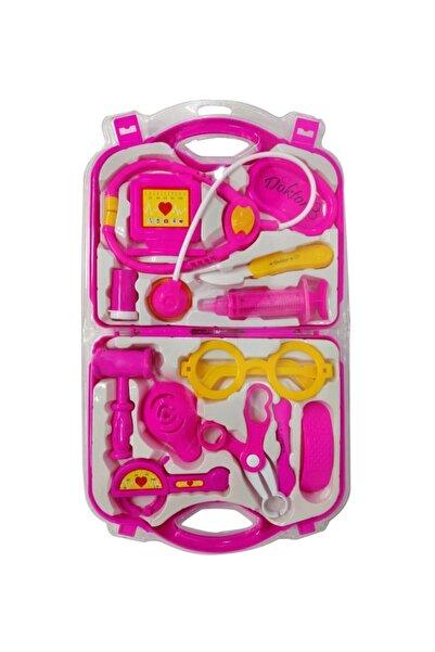 TORUTOYS Çantalı Plastik Renkli Doktor Seti Oyuncak