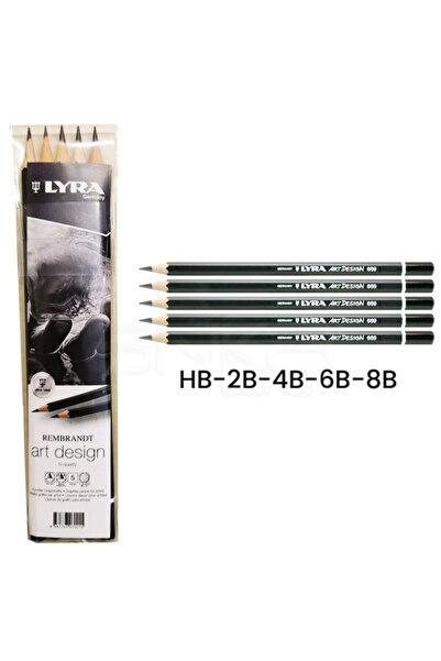 LYRA Rembrandt Art Design Dereceli Resim Kalemi 5'li Set