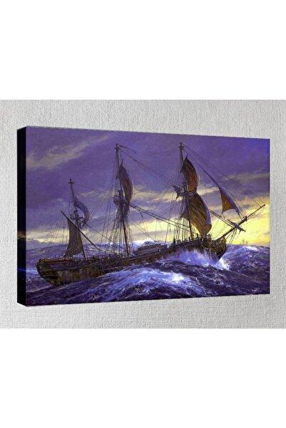 Lukas Kanvas Tablo - 50x70 Cm - Gemi Resimleri - Gm32