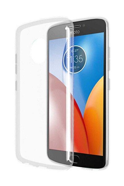 Motorola Rozax Moto E4 Plus Kılıf Yumuşak Soft Şeffaf Silikon