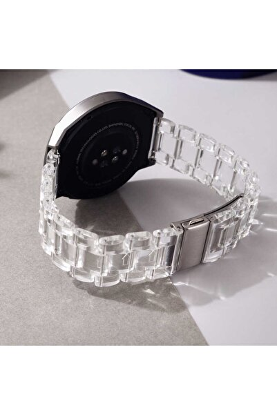 Huawei Watch Gt/gt2/gt2 Pro Uyumlu Plastik Baklalı Tasarım Kordon 46mm