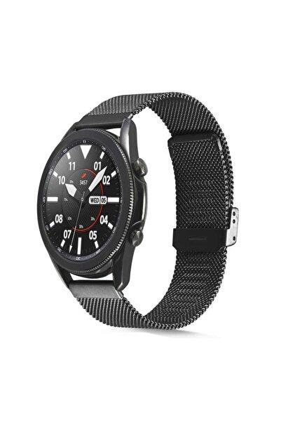 Huawei Watch Gt/gt2/gt2 Pro Uyumlu Çelik Tel Örgü Tasarım Hasır Metal Kordon 46 mm