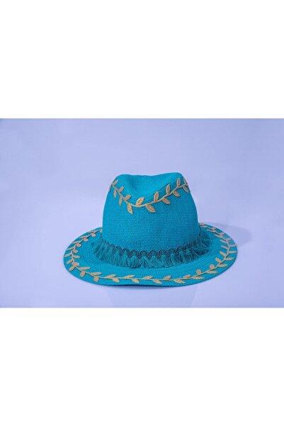 artıbir Şapka Hasır Dekor