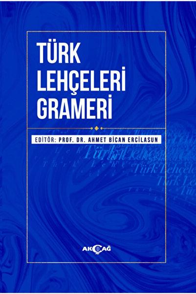 AKC 9789753388856 Türk Lehçeleri Grameri-ahmet Bican Ercilas