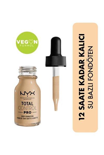 NYX Professional Makeup Total Control Pro Drop Foundation Nude - Fondöten