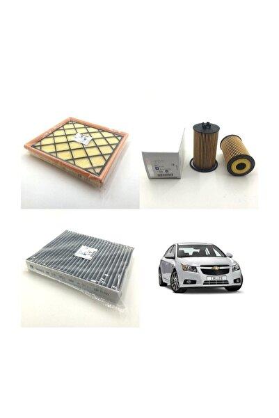 GM Chevrolet Cruze 1.6 Benzin Ve Lpg (2009 Ve Sonrası) Filtre Bakım Seti