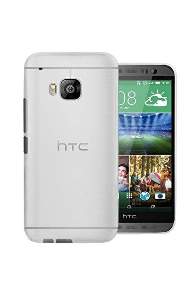 HTC Rozax Yumuşak Soft One M9 Kılıf Şeffaf Silikon
