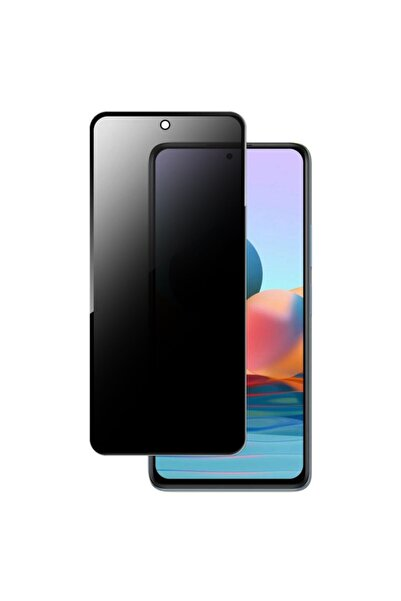 Bufalo Huawei P Smart 2021 Uyumlu Hayalet Privacy Gizli Cam Ekran Koruyucu Siyah