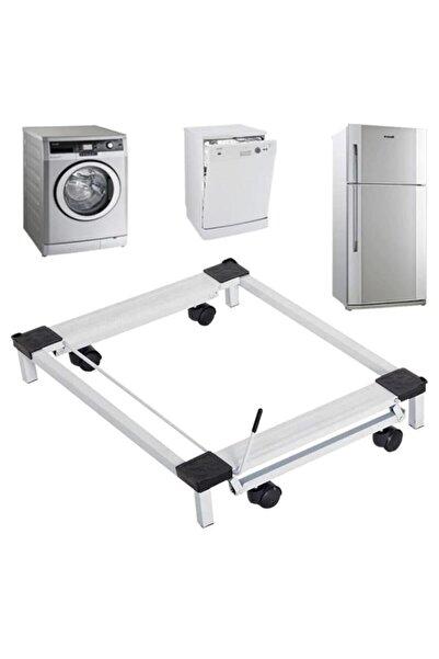 Marketonya Buzdolabı  Çamaşır Makinesi Altlığı  Çek Sür