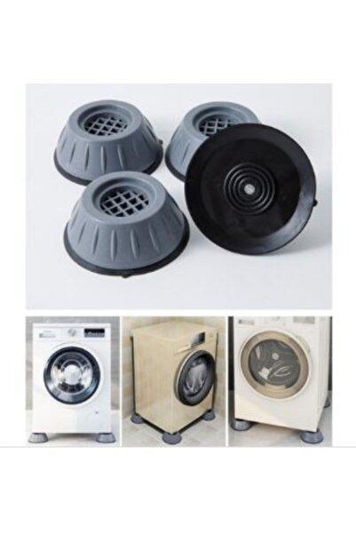 ARSTİC Çok Amaçlı Eşya Çamaşır Makinesi Titreşim Önleyici Kaydırmaz Vantuzlu Stoper Set 4 Adet
