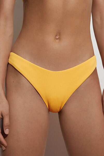 Oysho U Kesim Yüksek Belli Pike Bikini Altı