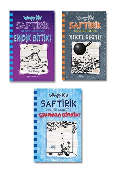 Epsilon Yayınları Saftirik Gregin Günlüğü Serisi En Son Yeni 3 Kitap Seti 13-14-15. Kitaplar Jeff Ki