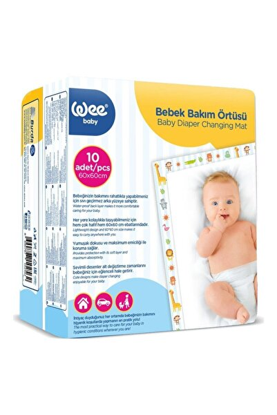 Wee Baby Bebek Bakım Örtüsü