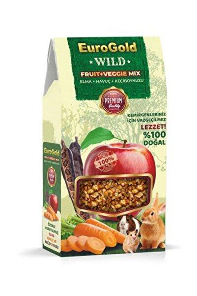 EuroGold Euro Gold Wild Fruit+veggie Mix Kemirgen Ödülü 120 gr
