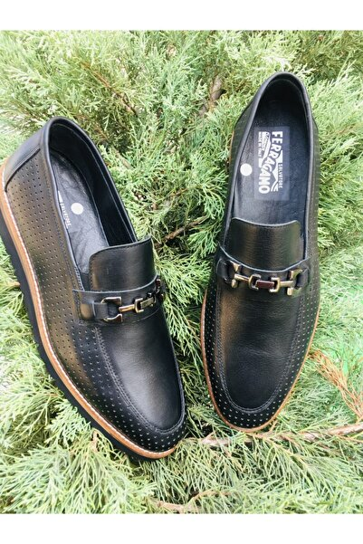 Salvatore Ferragamo Siyah Erkek Ayakkabı