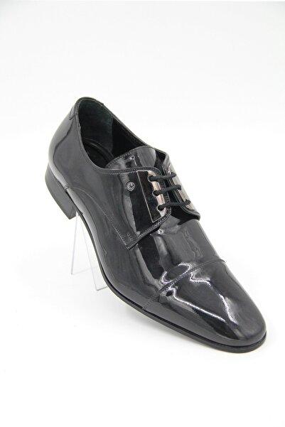 Cacharel 5680 Siyah Rugan Erkek Klasik Ayakkabı
