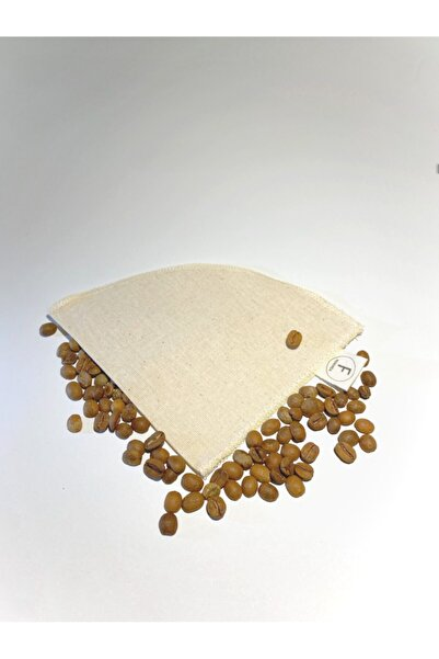 Farkında Ekolojik Yıkanabilir Organik Kumaş V60 Kahve Filtresi