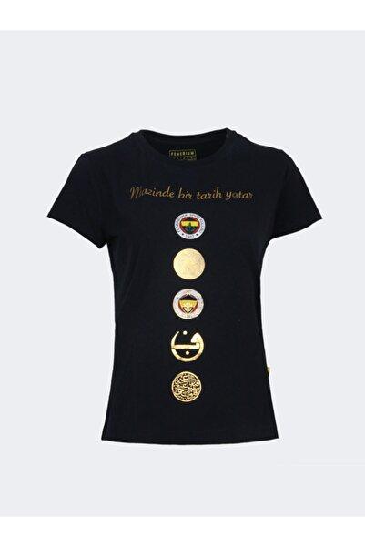 Fenerium Kadın Tribün Beş Logo T-shırt
