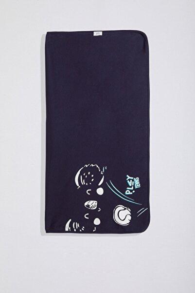 Wogi Erkek Bebek Çift Katlı Battaniye PB21S502-5763B