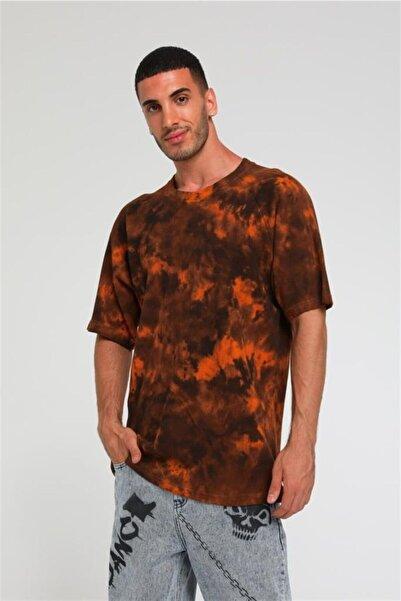 Rocqerx R-5422 Batik Yıkamalı Waffle T-shirt
