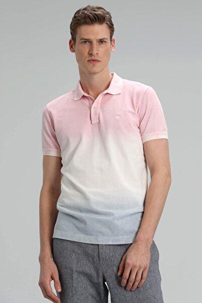 Lufian Toylor Spor Polo T- Shirt Pembe