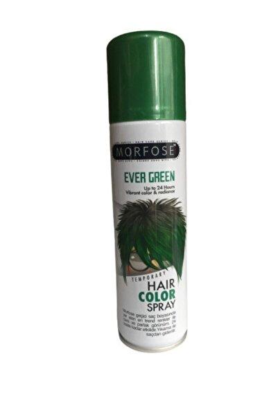 Morfose Hair Color Spray 150 ml Ever Green Saç Spreyi Yeşil Renkli Saç Spreyi